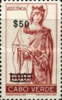 [Charity for the Poor - Saint Elizabeth of Portugal - Tax Stamp of 1948 Surcharged, Typ D2]