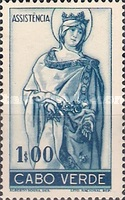 [Charity for the Poor - Saint Elizabeth of Portugal - New Colors and Perforation, Typ D4]