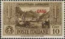 "[Italian Occupation- Italian Postage Stamps No. 360-369 Overprinted ""CASO"", tyyppi K]"