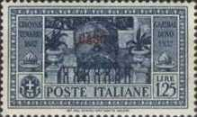 "[Italian Occupation- Italian Postage Stamps No. 360-369 Overprinted ""CASO"", tyyppi O]"