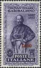 "[Italian Occupation- Italian Postage Stamps No. 360-369 Overprinted ""CASO"", tyyppi R]"