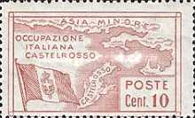 [The 2nd Anniversary of Italian Occupation of Castelrosso, tyyppi E1]