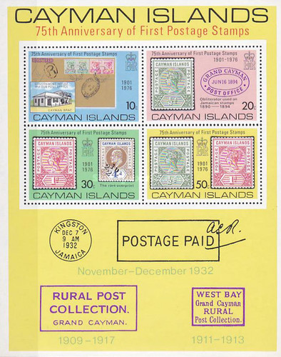 [The 75th Anniversary of First Postage Stamps, Typ ]