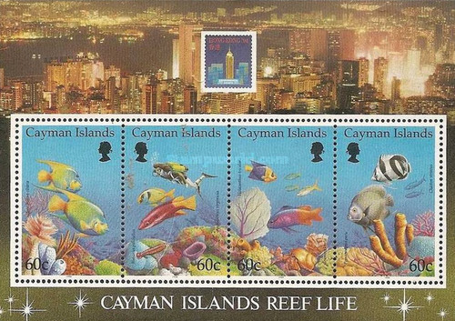 [Fish - International Stamp Exhibtion
