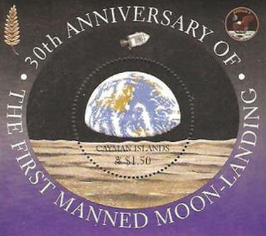 [The 30th Anniversary of the First Manned Landing on the Moon, Typ ]
