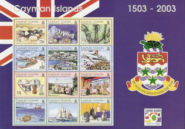 [The 500th Anniversary of Discovery of Cayman Islands, Typ ]