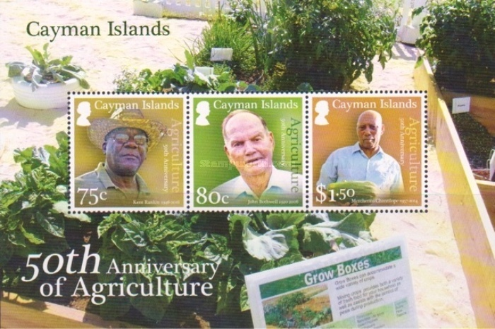 [The 50th Anniversary of Cayman Island Agriculture, Typ ]