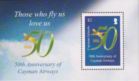 [The 50th Anniversary of Cayman Airways, type ]