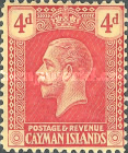 [King George V - New Design. See also No. 56-69, Typ AA1]