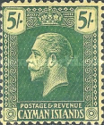 [King George V - New Design. See also No. 56-69, Typ AA3]