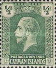[King George V - New Watermark, type AA6]