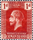 [King George V - New Watermark, type AA7]