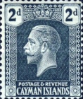 [King George V - New Watermark, type AA9]