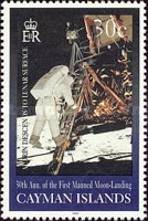 [The 30th Anniversary of First Manned Landing on Moon, Typ AAD]