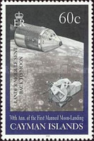 [The 30th Anniversary of First Manned Landing on Moon, Typ AAE]