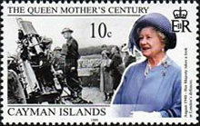 [Queen Elizabeth the Queen Mother's Century, Typ AAF]
