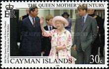 [Queen Elizabeth the Queen Mother's Century, Typ AAH]