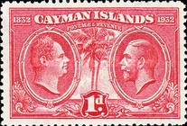 [King William IV & King George V, type AC2]