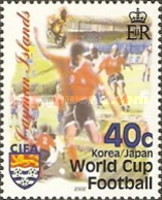 [Football World Cup - South Korea and Japan and the 35th Anniversary of Cayman Islands Football Association, Typ ADN]