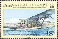 [The 50th Anniversary of Cayman Islands - Aviation, Typ ADX]