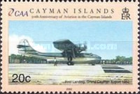 [The 50th Anniversary of Cayman Islands - Aviation, Typ ADY]