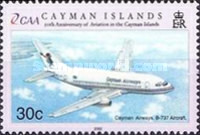 [The 50th Anniversary of Cayman Islands - Aviation, Typ AEA]