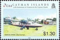 [The 50th Anniversary of Cayman Islands - Aviation, Typ AEC]