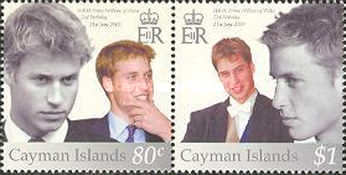[The 21st Anniversary of the Birth of Prince William of Wales, Typ AEO]