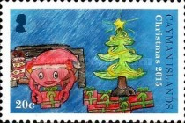 [Christmas - Children's Drawings, Typ AOZ]