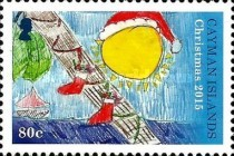 [Christmas - Children's Drawings, Typ APC]