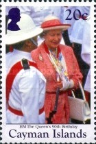 [The 90th Anniversary of the Birth of Queen Elizabeth II, Typ APN]
