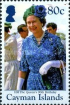 [The 90th Anniversary of the Birth of Queen Elizabeth II, Typ APQ]
