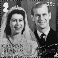 [The 70th Anniversary of the Wedding of Queen Elizabeth II and Prince Philip, Typ AQL]
