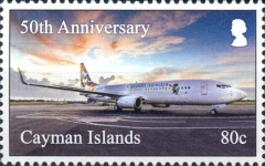 [The 50th Anniversary of Cayman Airways, type AQT]