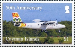 [The 50th Anniversary of Cayman Airways, type AQU]