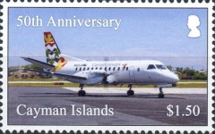 [The 50th Anniversary of Cayman Airways, type AQV]