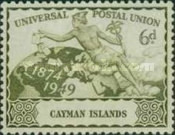 [The 75th Anniversary of the Universal Postal union, Typ AU]