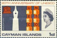 [The 20th Anniversary of UNESCO, type CY]