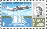 [The Opening of Grand Cayman Airport Jet Service, Typ DC]
