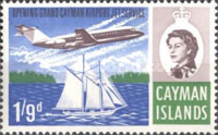 [The Opening of Grand Cayman Airport Jet Service, type DC1]