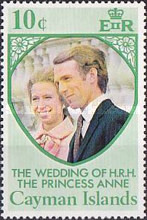 [The Wedding of H.R.H. The Princess Anne and Mark Phillips, Typ GW]