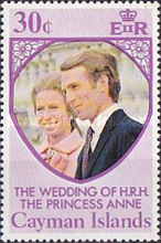 [The Wedding of H.R.H. The Princess Anne and Mark Phillips, Typ GW1]