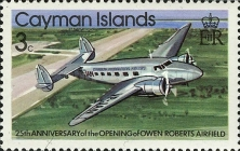 [The 25th Anniversary of the Opening of the Owen-Roberts Airport - Airplanes, Typ KQ]