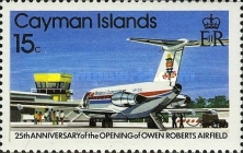 [The 25th Anniversary of the Opening of the Owen-Roberts Airport - Airplanes, Typ KT]
