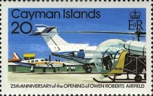 [The 25th Anniversary of the Opening of the Owen-Roberts Airport - Airplanes, Typ KU]
