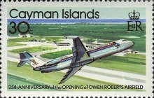 [The 25th Anniversary of the Opening of the Owen-Roberts Airport - Airplanes, Typ KV]