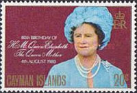 [The 80th Anniversary of the Birth of Queen Elizabeth The Queen Mother, Typ LT]