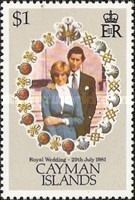 [Royal Wedding - Prince Charles and Lady Diana Spencer, Typ MX]