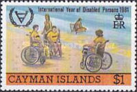 [International Year of Disabled Persons, Typ NB]
