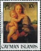 [Christmas -  Paintings by Raphael, 1483-1520, Typ NT]
